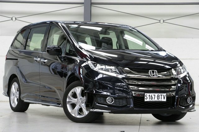 Demo Honda Odyssey RC MY18 VTi, 2018 Honda Odyssey RC MY18 VTi Premium Twinkle Black 7 Speed Constant Variable Wagon