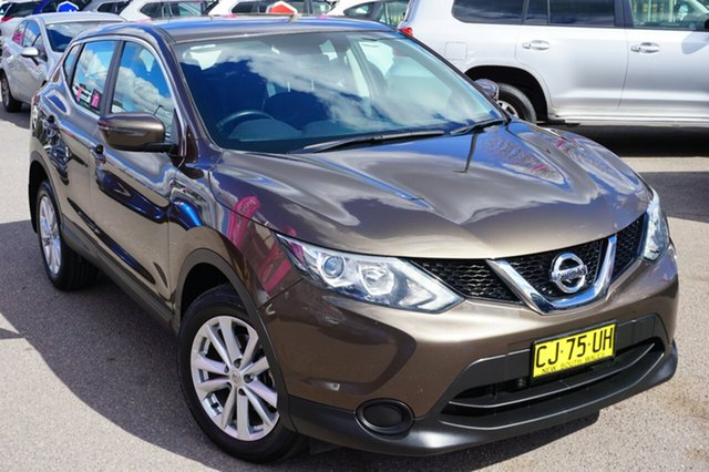 Used Nissan Qashqai J11 ST, 2014 Nissan Qashqai J11 ST Truffle Bronze 1 Speed Constant Variable Wagon