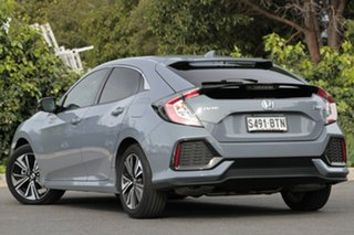 2017 Honda Civic 10th Gen MY17 VTi-L Sonic Grey 1 Speed Constant Variable Hatchback.