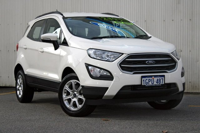 Demo Ford Ecosport BL Trend, 2018 Ford Ecosport BL Trend White 6 Speed Automatic Wagon