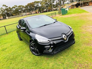 2018 Renault Clio IV B98 Phase 2 Intens EDC Diamond Black 6 Speed Sports Automatic Dual Clutch.