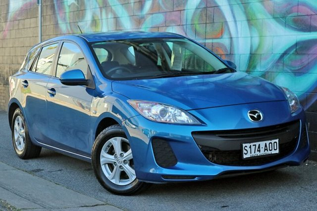 Used Mazda 3 BL10F2 Neo Activematic, 2012 Mazda 3 BL10F2 Neo Activematic Sky Blue 5 Speed Sports Automatic Hatchback