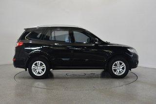 2010 Hyundai Santa Fe CM MY10 Elite Black 6 Speed Sports Automatic Wagon.