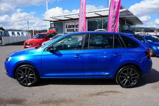 2018 Skoda Rapid NH MY18.5 Spaceback DSG Blue 7 Speed Sports Automatic Dual Clutch Hatchback