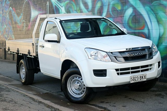 Used Isuzu D-MAX MY15 SX, 2016 Isuzu D-MAX MY15 SX White 5 Speed Manual Cab Chassis