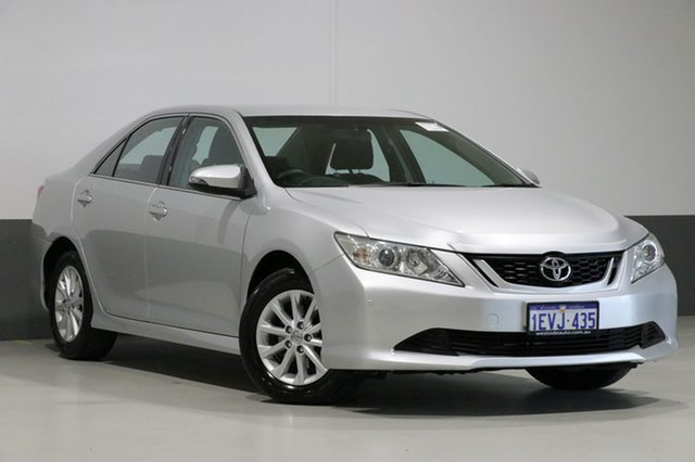 Used Toyota Aurion GSV50R MY15 AT-X, 2015 Toyota Aurion GSV50R MY15 AT-X Silver 6 Speed Automatic Sedan