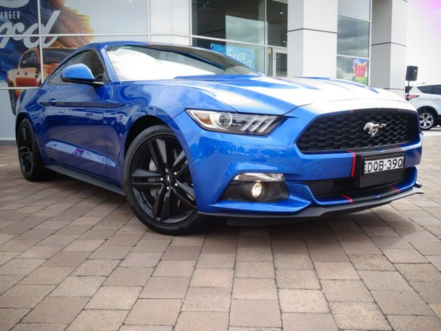 Used Ford Mustang FM MY17 Fastback SelectShift, 2017 Ford Mustang FM MY17 Fastback SelectShift Blue 6 Speed Sports Automatic Fastback