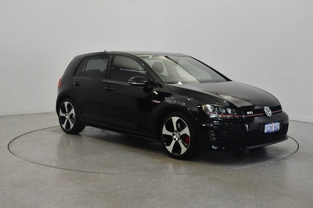 Used Volkswagen Golf VII MY16 GTI DSG, 2016 Volkswagen Golf VII MY16 GTI DSG Deep Black 6 Speed Sports Automatic Dual Clutch Hatchback