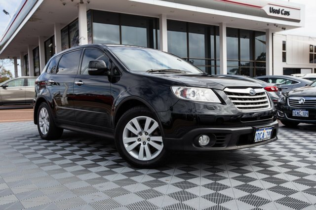Used Subaru Tribeca B9 MY09 R AWD, 2009 Subaru Tribeca B9 MY09 R AWD Black/Grey 5 Speed Sports Automatic Wagon
