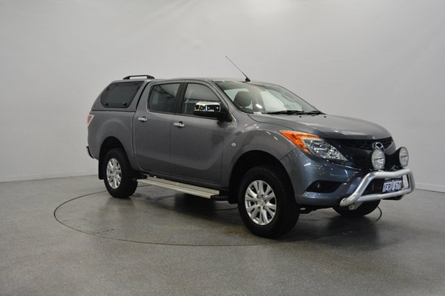 Used Mazda BT-50 UP0YF1 GT, 2014 Mazda BT-50 UP0YF1 GT Grey 6 Speed Sports Automatic Utility