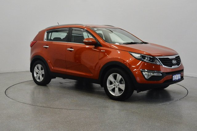 Used Kia Sportage SL MY14 SLi AWD, 2014 Kia Sportage SL MY14 SLi AWD Techno Orange 6 Speed Sports Automatic Wagon