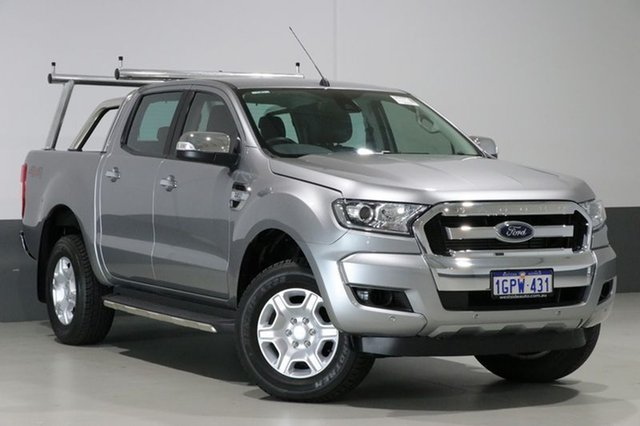 Used Ford Ranger PX Mkii MY17 XLT 3.2 (4x4), 2016 Ford Ranger PX Mkii MY17 XLT 3.2 (4x4) Grey 6 Speed Manual Dual Cab Utility
