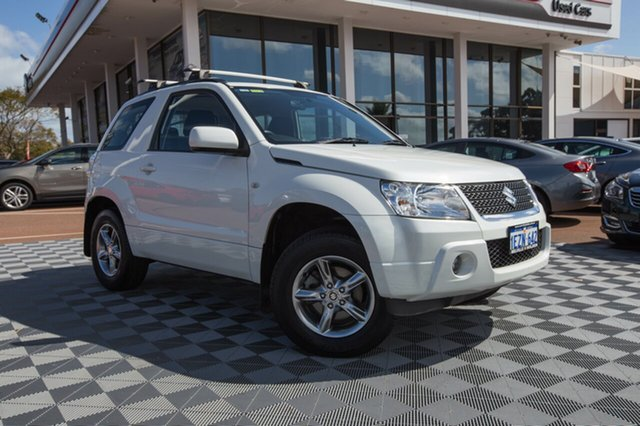 Used Suzuki Grand Vitara JB MY09 , 2011 Suzuki Grand Vitara JB MY09 White 5 Speed Manual Hardtop