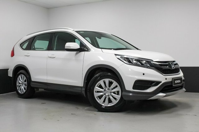 Used Honda CR-V RM Series II MY16 VTi, 2015 Honda CR-V RM Series II MY16 VTi White 5 Speed Automatic Wagon