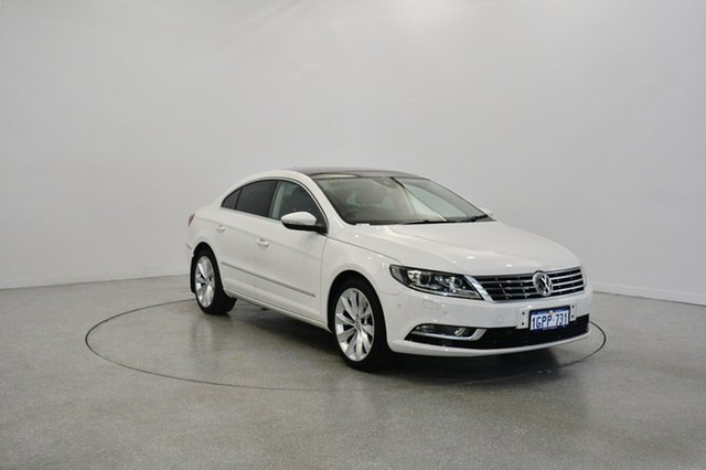 Used Volkswagen CC Type 3CC MY13.5 V6 FSI DSG 4MOTION, 2013 Volkswagen CC Type 3CC MY13.5 V6 FSI DSG 4MOTION White 6 Speed Sports Automatic Dual Clutch
