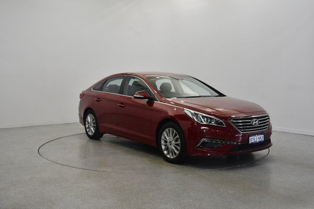 Used Hyundai Sonata LF Active, 2015 Hyundai Sonata LF Active Remington Red 6 Speed Sports Automatic Sedan