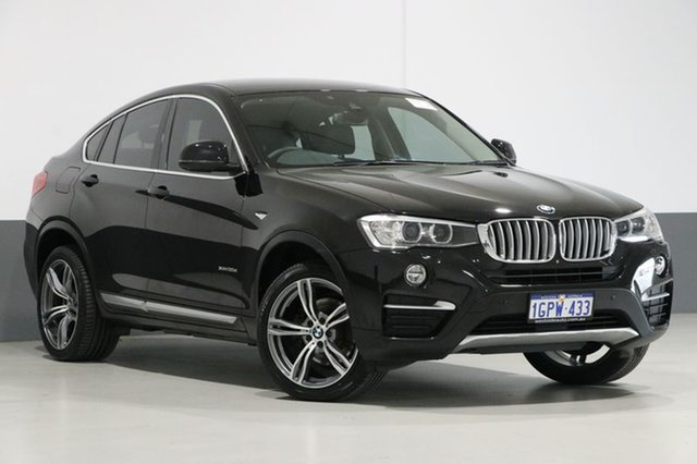 Used BMW X4 F26 MY15 xDrive 30D, 2014 BMW X4 F26 MY15 xDrive 30D Black 8 Speed Automatic Coupe