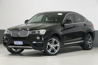 2014 BMW X4 F26 MY15 xDrive 30D Black 8 Speed Automatic Coupe.