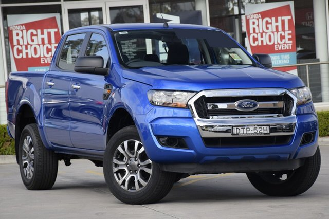 Used Ford Ranger PX MkII MY18 XL Double Cab 4x2 Hi-Rider, 2017 Ford Ranger PX MkII MY18 XL Double Cab 4x2 Hi-Rider Winning Blue 6 Speed Sports Automatic