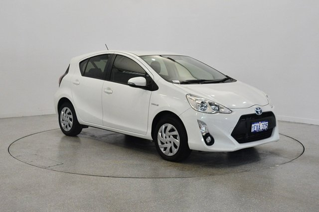 Used Toyota Prius c NHP10R E-CVT, 2015 Toyota Prius c NHP10R E-CVT White 1 Speed Constant Variable Hatchback Hybrid