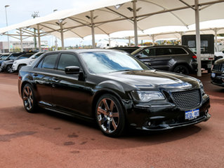 2012 Chrysler 300 MY12 SRT8 Black 5 Speed Automatic Sedan
