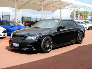 2012 Chrysler 300 MY12 SRT8 Black 5 Speed Automatic Sedan.