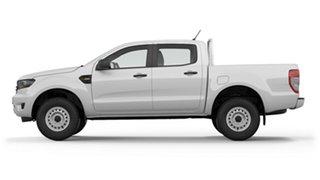 2018 Ford Ranger PX MkIII 2019.00MY XL Pick-up Double Cab 4x2 Hi-Rider Frozen White 6 Speed.