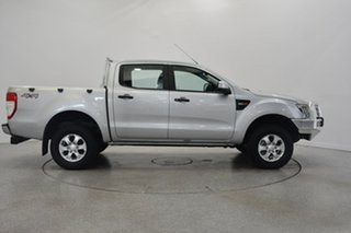 2013 Ford Ranger PX XLS Double Cab Silver 6 Speed Manual Utility.