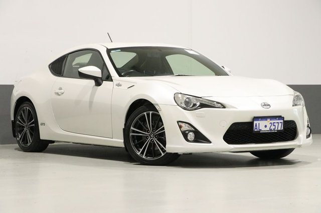 Used Toyota 86 ZN6 GTS, 2012 Toyota 86 ZN6 GTS White 6 Speed Auto Sequential Coupe