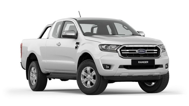 New Ford Ranger PX MkIII 2019.00MY XLT Pick-up Super Cab, 2018 Ford Ranger PX MkIII 2019.00MY XLT Pick-up Super Cab Cool White 10 Speed Sports Automatic