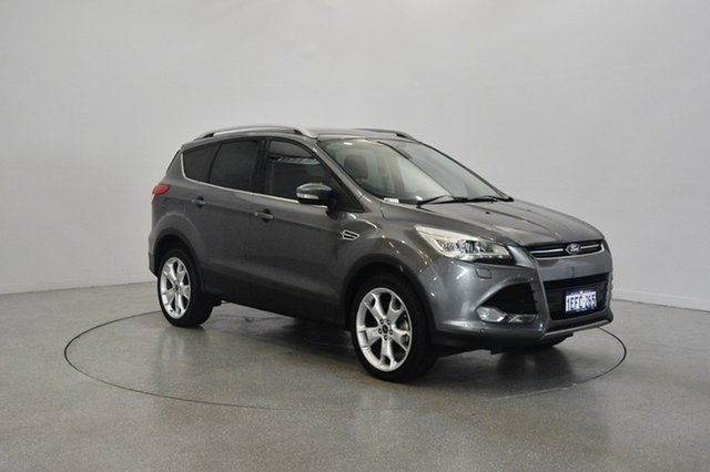 Used Ford Kuga TF Titanium AWD, 2013 Ford Kuga TF Titanium AWD Grey 6 Speed Sports Automatic Wagon