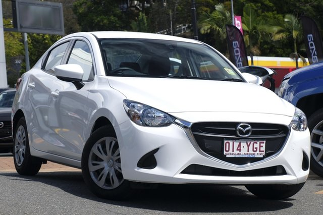 Demo Mazda 2 DL2SAA Neo SKYACTIV-Drive, 2018 Mazda 2 DL2SAA Neo SKYACTIV-Drive Snowflake White 6 Speed Sports Automatic Sedan