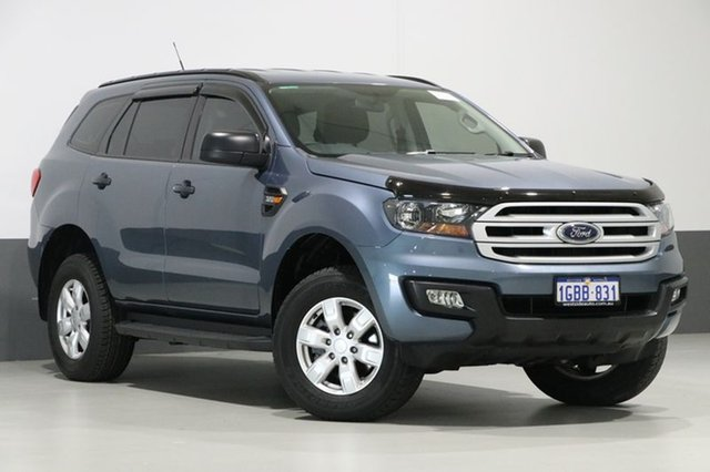 Used Ford Everest UA Ambiente, 2016 Ford Everest UA Ambiente Blue 6 Speed Automatic Wagon