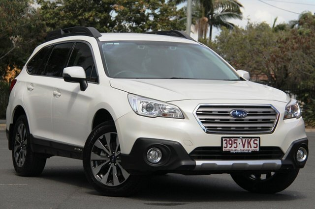 Used Subaru Outback B6A MY15 2.5i CVT AWD, 2015 Subaru Outback B6A MY15 2.5i CVT AWD White 6 Speed Constant Variable Wagon