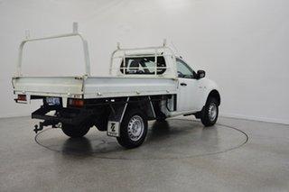 2015 Mitsubishi Triton MN MY15 GLX 4x2 White 4 Speed Sports Automatic Cab Chassis.