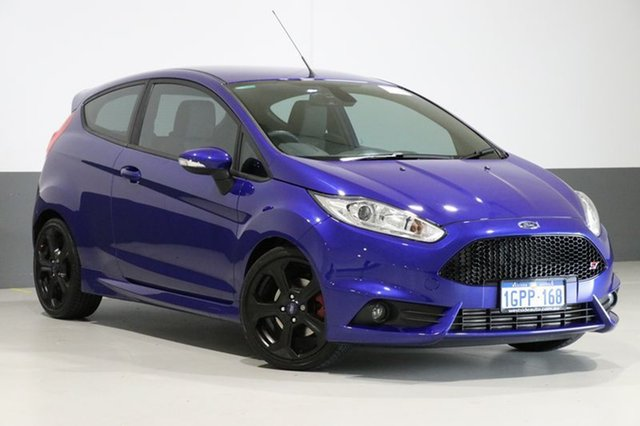 Used Ford Fiesta WZ ST, 2014 Ford Fiesta WZ ST Blue 6 Speed Manual Hatchback