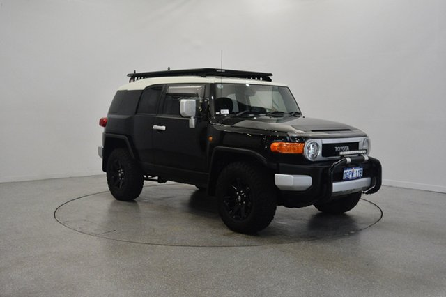 Used Toyota FJ Cruiser GSJ15R MY14 , 2015 Toyota FJ Cruiser GSJ15R MY14 Black 5 Speed Automatic Wagon