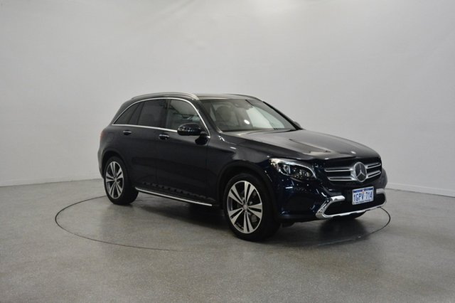 Used Mercedes-Benz GLC250 X253 d 9G-TRONIC 4MATIC, 2015 Mercedes-Benz GLC250 X253 d 9G-TRONIC 4MATIC Blue 9 Speed Sports Automatic Wagon