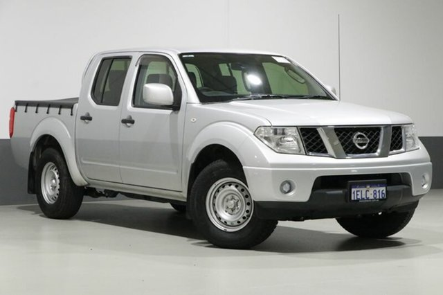 Used Nissan Navara D40 MY13 RX (4x2), 2013 Nissan Navara D40 MY13 RX (4x2) Silver 5 Speed Automatic Dual Cab Pick-up