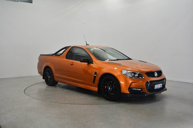 Used Holden Ute VF II MY17 SS V Ute Redline, 2017 Holden Ute VF II MY17 SS V Ute Redline Orange Burst 6 Speed Sports Automatic Utility