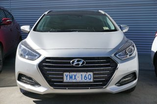 2018 Hyundai i40 VF4 Series II Premium Tourer D-CT Platinum Silver 7 Speed.