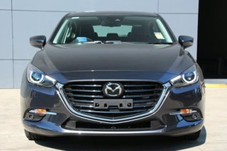 2018 Mazda 3 BN5438 SP25 SKYACTIV-Drive Astina Machine Grey 6 Speed Sports Automatic Hatchback