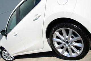 2018 Mazda 3 BN5238 SP25 SKYACTIV-Drive Snowflake White 6 Speed Sports Automatic Sedan