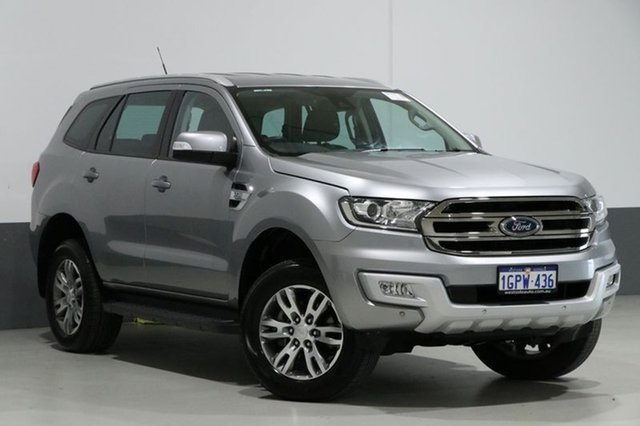 Used Ford Everest UA MY17.5 Trend (4WD), 2017 Ford Everest UA MY17.5 Trend (4WD) Silver 6 Speed Automatic Wagon