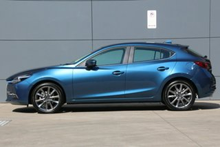2018 Mazda 3 BN5438 SP25 SKYACTIV-Drive Astina Eternal Blue 6 Speed Sports Automatic Hatchback