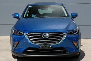 2017 Mazda CX-3 DK2W7A Akari SKYACTIV-Drive Blue 6 Speed Sports Automatic Wagon