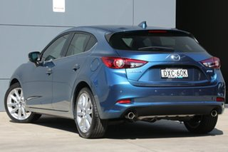 2018 Mazda 3 BN5438 SP25 SKYACTIV-Drive GT Eternal Blue 6 Speed Sports Automatic Hatchback.
