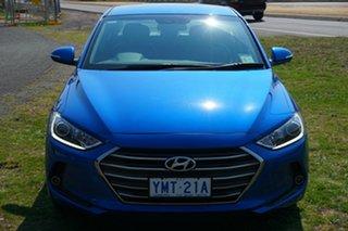 2018 Hyundai Elantra AD MY18 Elite Marina Blue 6 Speed Sports Automatic Sedan.