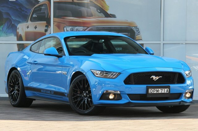 Used Ford Mustang FM MY17 GT Fastback SelectShift, 2017 Ford Mustang FM MY17 GT Fastback SelectShift Blue 6 Speed Sports Automatic Fastback