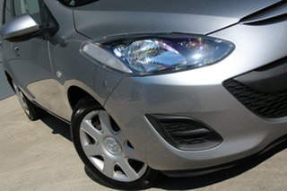 2012 Mazda 2 DE10Y2 MY12 Neo Billet Silver 5 Speed Manual Hatchback.